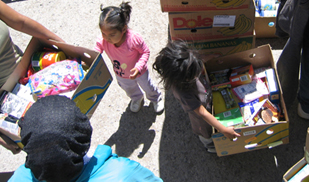Groceries for all the boys and girls…and their families